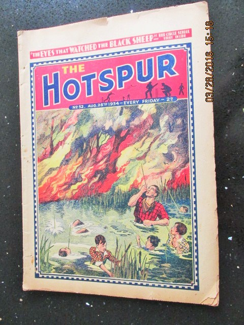 Image for The Hotspur Comic No 52  Aug 25th  1934