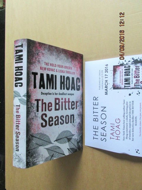 Image for The Bitter Season Unread Fine First Printing Plus Publishers Advance Publicity Letter