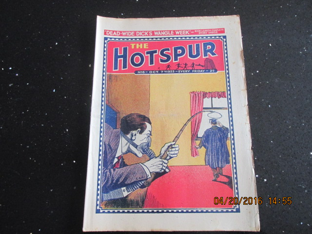 Image for The Hotspur Comic No 6 October 7th 1933