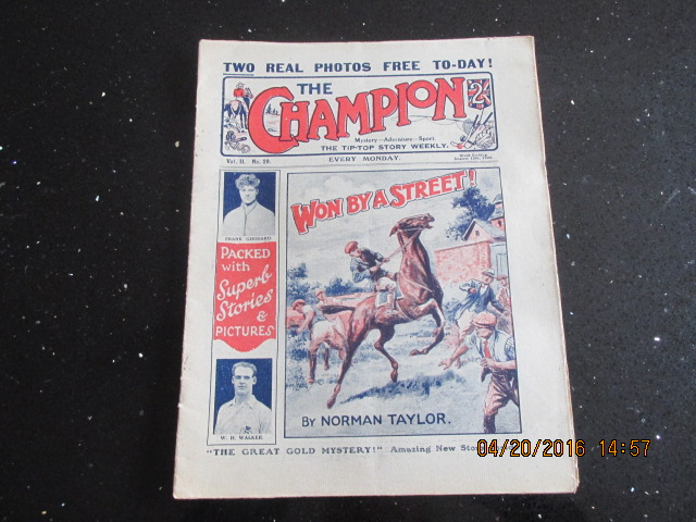 Image for The Champion Comic Vol 2 Number 29  Dated August 12th 1922