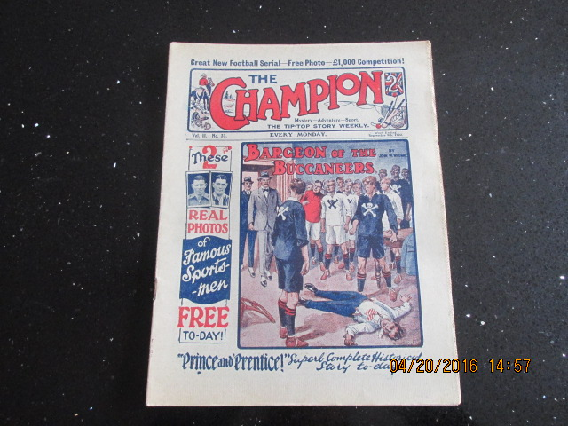 Image for The Champion Comic Vol 2 Number 33  Dated September 9th 1922