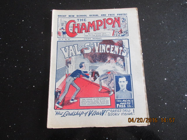 Image for The Champion Comic Vol 2 Number 34  Dated September 16th 1922