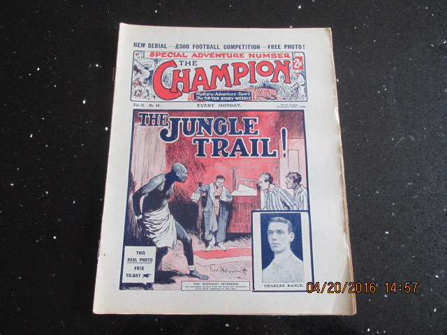 Image for The Champion Comic Vol 2 Number 36  Dated September 30th 1922