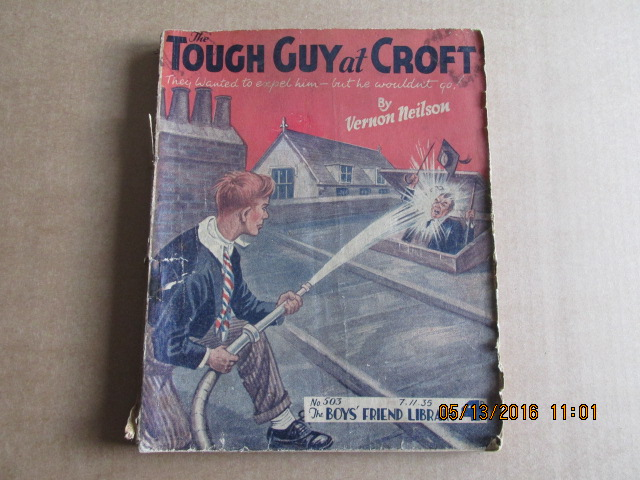Image for The Boys Friend Library Issue Number 503  Dated 7.11.35  the Tough Guy at Croft  By Vernon Neilson