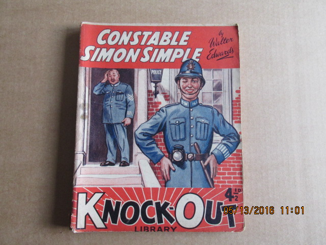 Image for Knock-Out Library Issue Number 712 Dated 7.3.40  Constable Simon Simple By Walter Edwards