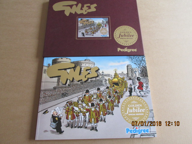 Image for Giles Golden Jubilee Special Edition in Slip-case [ an Unread Fine Copy ]