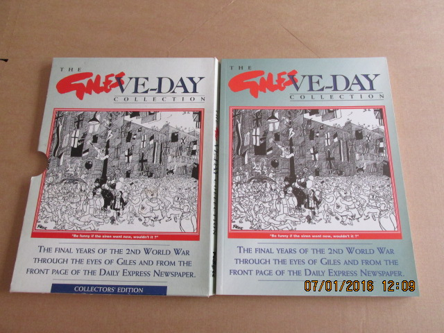 Image for The Giles VE Day Collection Number 4799 in Slipcase