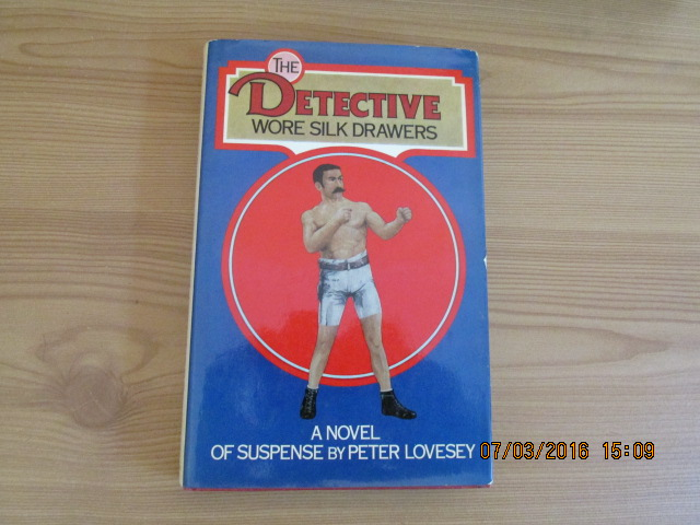 Image for The Detective Wore Silk Drawers Signed First Edition Hardback in Jacket
