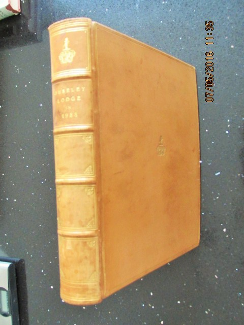 Image for Ouseley Lodge in 1933 [ a Leather Bound Photo Album ]