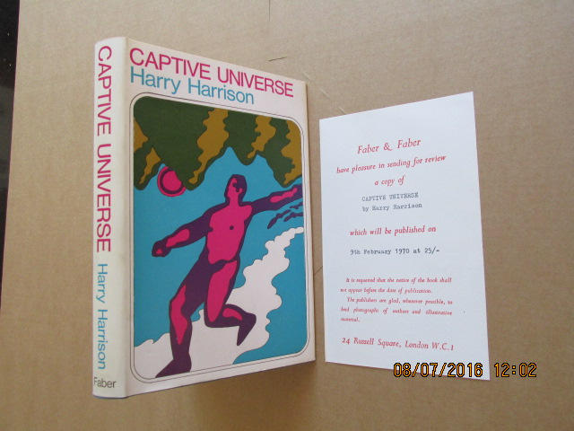 Image for Captive Universe  [ a Fine First Printing in Jacket Plus Review slip ]