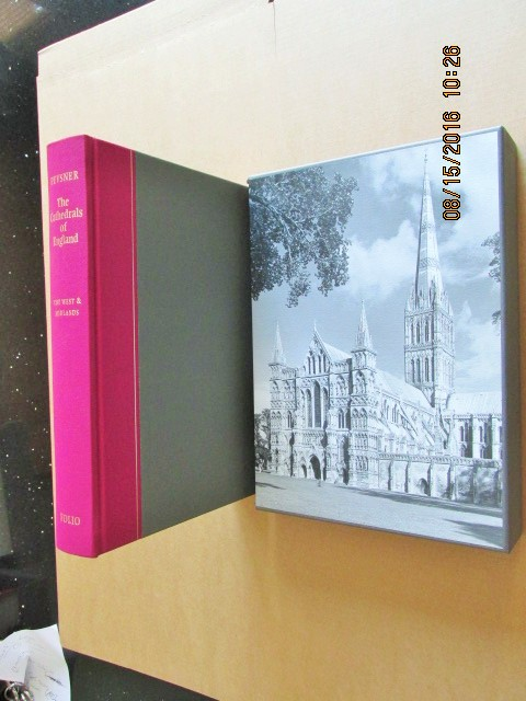 Image for The Cathedrals of England the West and Midlands [ a Fine First Printing in Slipcase ]