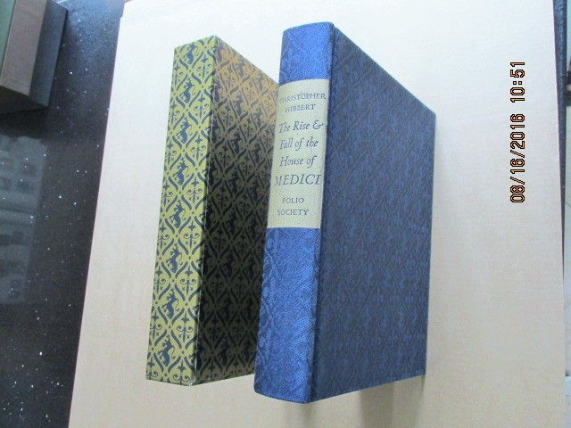 Image for The Rise and Fall of the House of Medici  [ a Fine First Folio Society Edition in Slipcase ]
