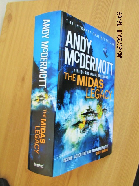 Image for The Midas Legacy Unread Fine First Edition Hardback in Dustjacket