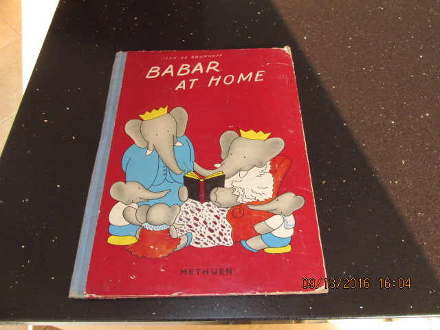 Image for Babar at Home  [  1938 first Edition ]