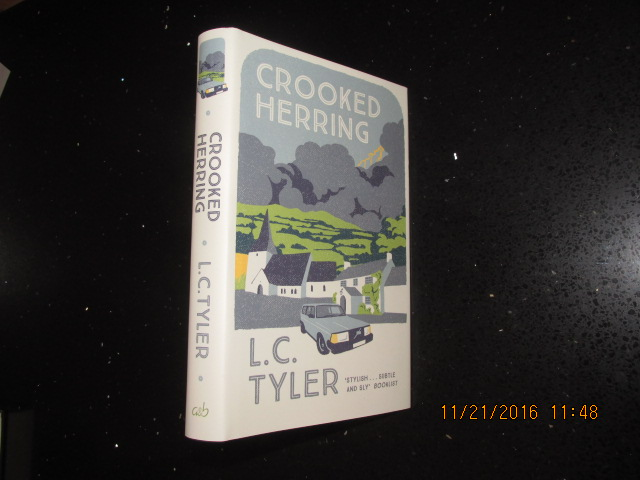 Image for Crooked Herring Signed First- Lined Dated First Printing