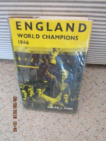 Image for England World Champions 1966 First Edition Hardback in Dustjacket ]