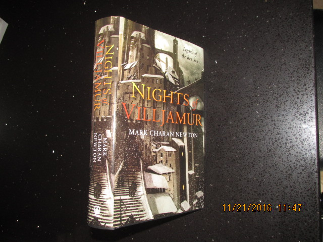 Image for Nights of Villjamur Legends of the Red Sun Book One Signed Numbered Dated First Printing