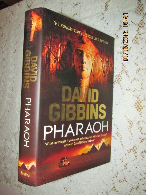 Image for Pharaoh Unread Fine First Edition Hardback in Dustjacket