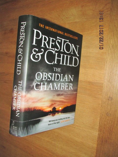 Image for The Obsidian Chamber Unread Fine First Edition Hardback in Dustjacket