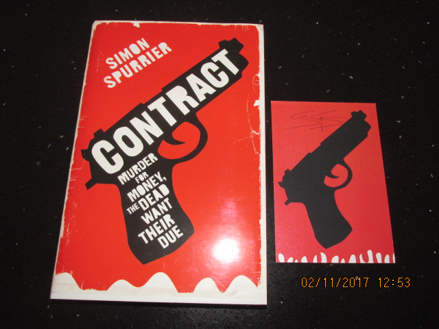 Image for Contract Signed First Edition Hardback in Dustjacket Plus Signed Postcard
