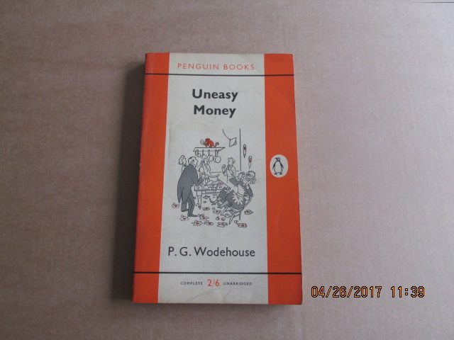 Image for Uneasy Money Penguin 1st Printing