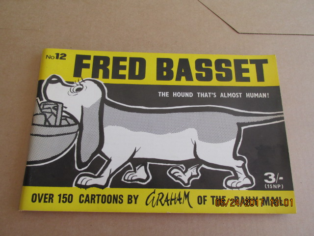 Image for Fred Bassett the Hound That's Almost Human No 12