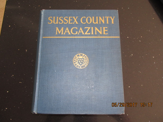Image for Sussex County Magazine Volume 2 Dated 1928  Edited By Arthur Beckett
