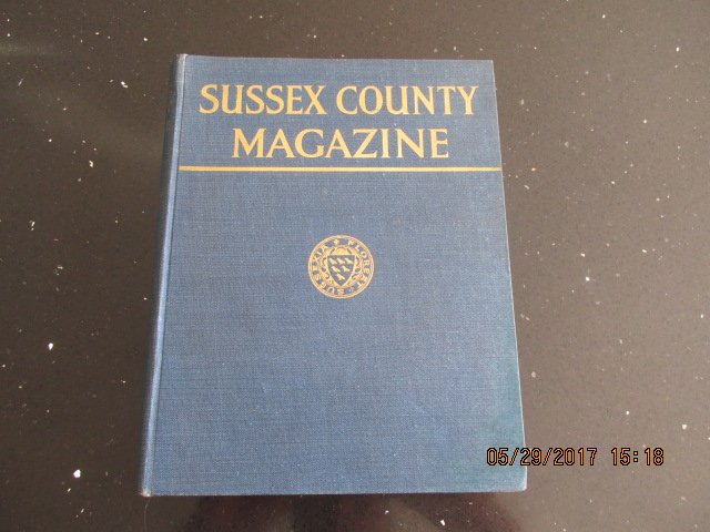 Image for Sussex County Magazine Volume 4 Dated 1930  Edited By Arthur Beckett