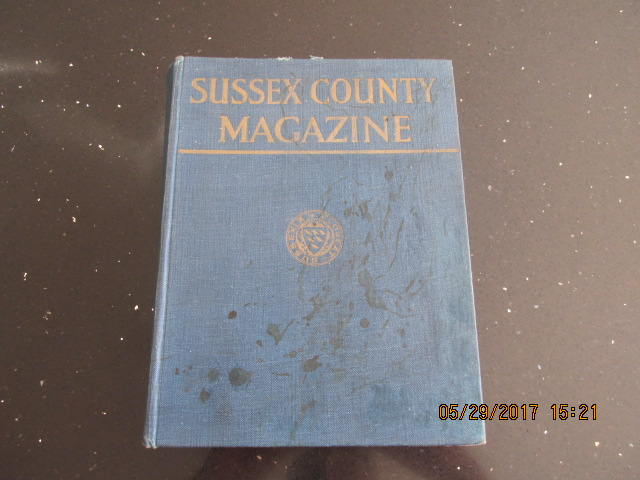 Image for Sussex County Magazine Volume 5 Dated 1931  Edited By Arthur Beckett