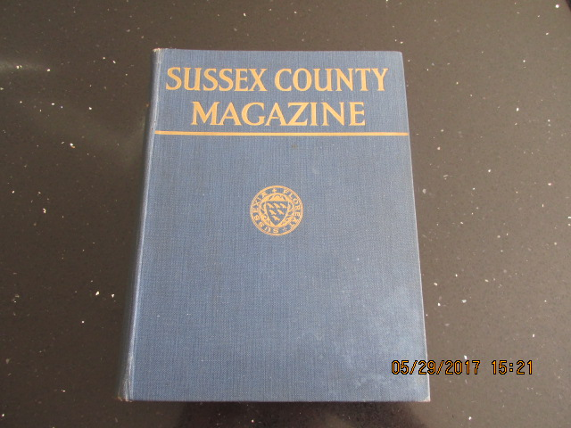 Image for Sussex County Magazine Volume 6 Dated 1932  Edited By Arthur Beckett
