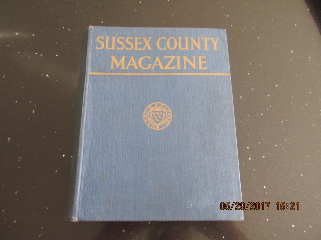 Image for Sussex County Magazine Volume 8 Dated 1934  Edited By Arthur Beckett
