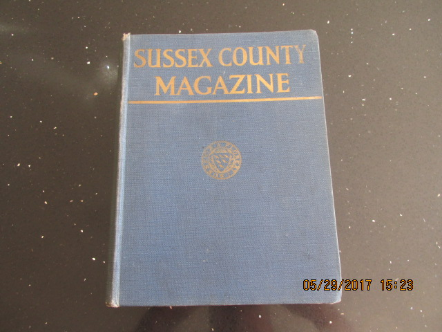Image for Sussex County Magazine Volume 13 Dated 1939  Edited By Arthur Beckett