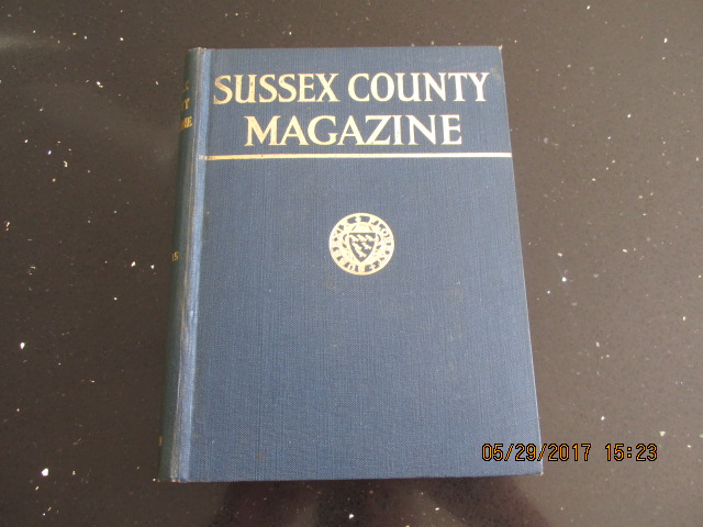 Image for Sussex County Magazine Volume 15 Dated 1941  Edited By Arthur Beckett