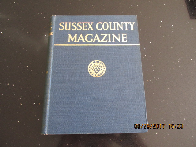 Image for Sussex County Magazine Volume 16 Dated 1942  Edited By Arthur Beckett