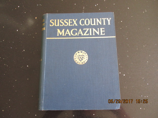 Image for Sussex County Magazine Volume 17 Dated 1943  Edited By Arthur Beckett