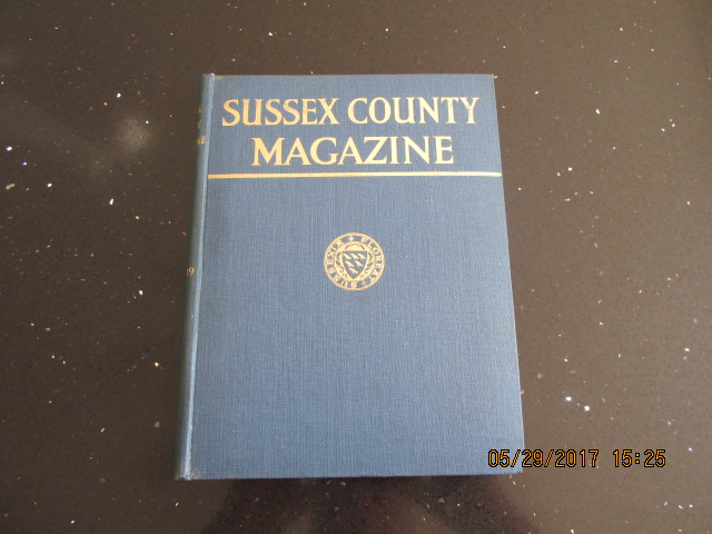 Image for Sussex County Magazine Volume 18 Dated 1944  Edited By Arthur Beckett