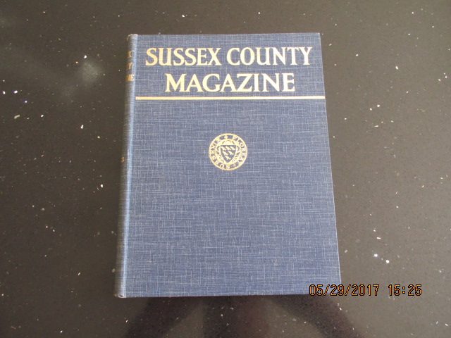 Image for Sussex County Magazine Volume 19 Dated 1945  Edited By Arthur Beckett