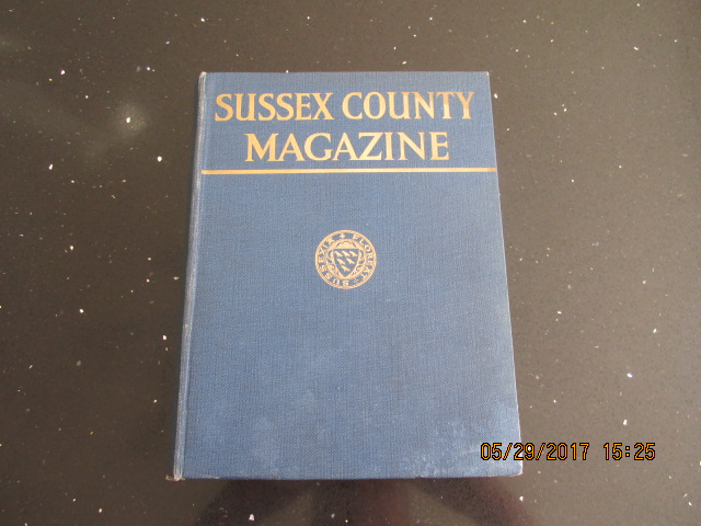 Image for Sussex County Magazine Volume 11 Dated 1937  Edited By Arthur Beckett