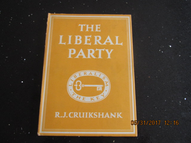Image for The Liberal Party Britain in Pictures First Printing in Jacket