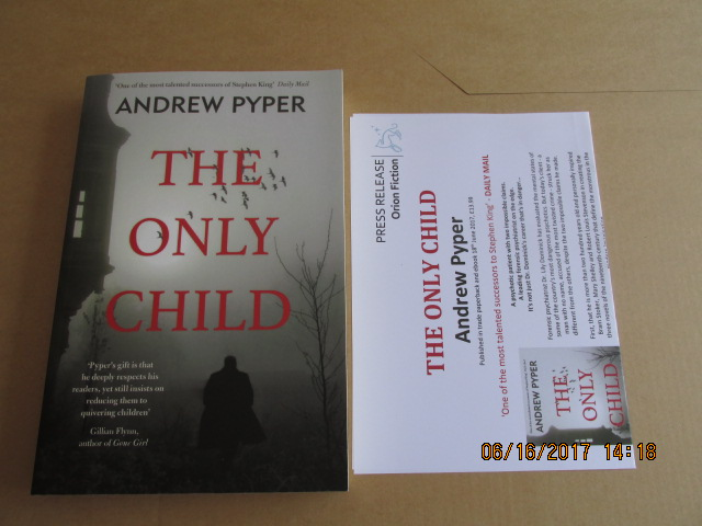Image for The Only Child Unread Fine First Edition Trade Paperback Original  Plus Publishers Advance Publicity Letter