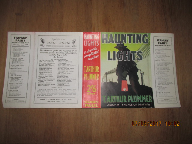 Image for Haunting Lights  [ Original Dustjacket Only No Book ]