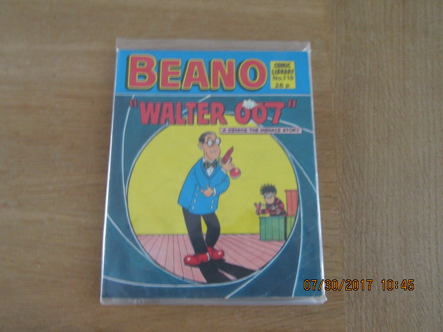 Image for Beano Comic Library No 110  Walter 007  A Dennis the Menace Story