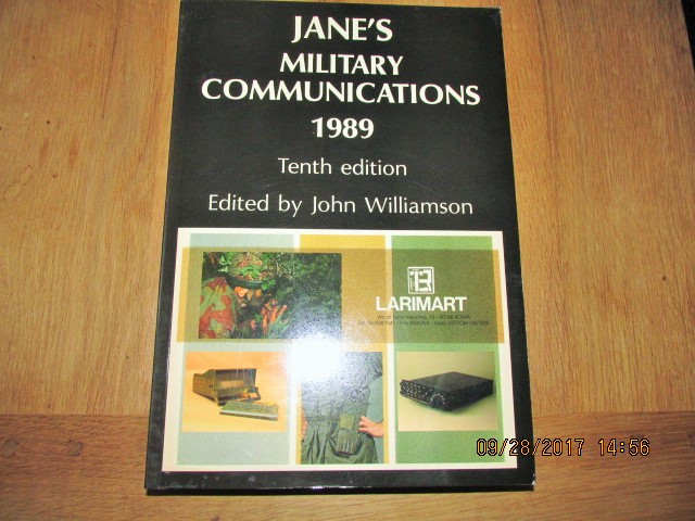 Image for Jane's Military Communications 1989 Tenth Edition