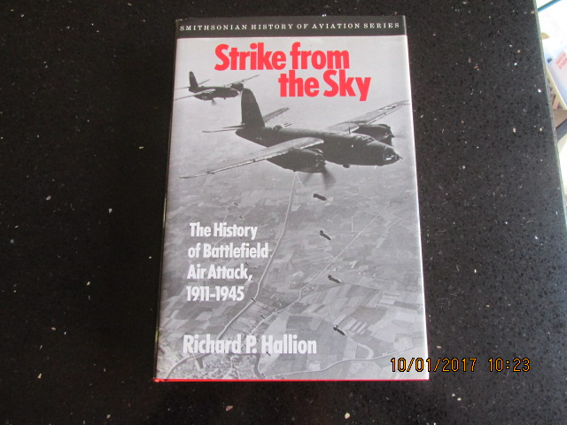 Image for Strike from the Sky: The History of Battlefield Air Attack, 1911-1945 (Smithsonian History of Aviation and Spaceflight Series)