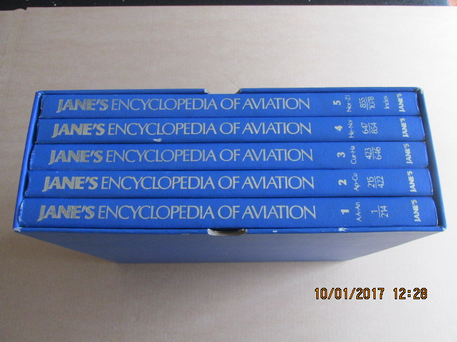 Image for Jane's Encyclopaedia of Aviation 5 Volumes in Slipcase