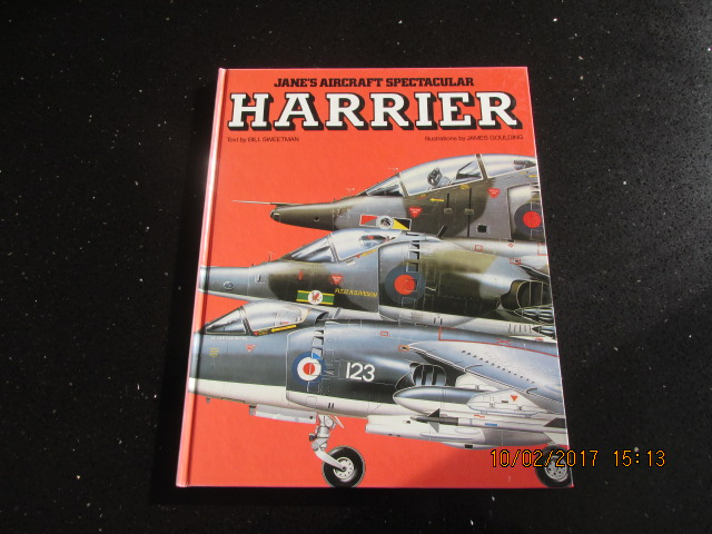 Image for Harrier (Jane's aircraft spectacular) First Edition