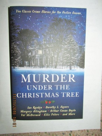 Image for Murder Under the Christmas Tree Unread First Edition Paperback Original