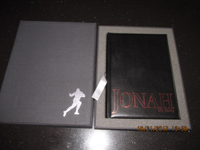 Image for Jonah My Story [ Signed Numbered 59 of 250 Deluxe Limited Edition in  Foam Lined Box ]
