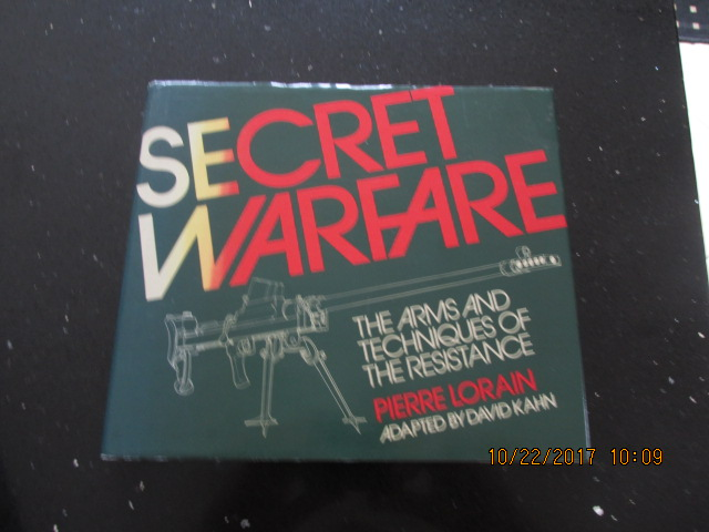 Image for Secret Warfare the Arms and Techniques of the Resistance