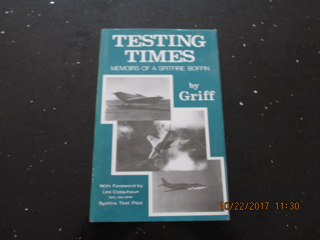 Image for Testing Times: Memoirs of a Spitfire Boffin